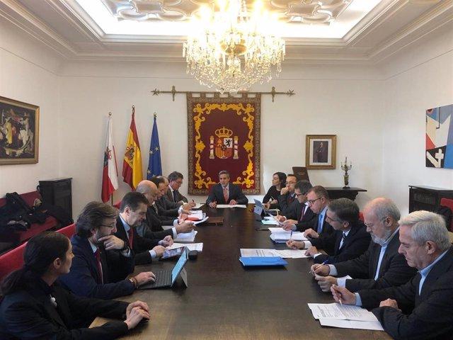 Constitución de mesa de seguimiento de integración de Santander