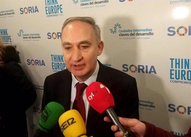 Antonio Largo Cabrerizo en Think Europe, 17-1-19