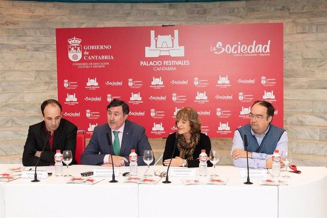 Presentación de la programación del Palacio de Festivales