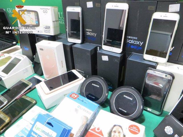 Desarticulada una red que hacía falsas portabilidades telefónicas