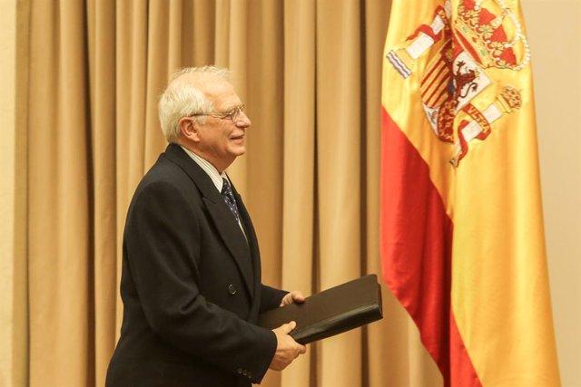 Compareixena de Josep Borrell en la Comissió d'Afers Exteriors