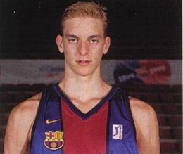 Pau Gasol, en sus inicios en el FC Barcelona