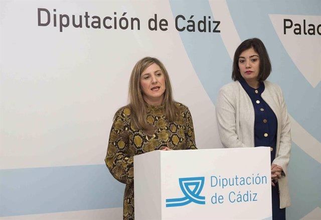 La presidenta de la Diputación de Cádiz, Irene García, presenta el despliegue