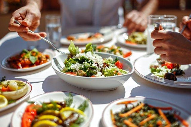 Cocina mediterránea, comer, alimentación saludable