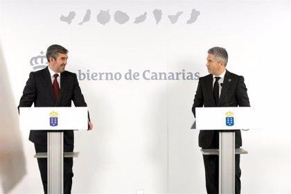 Canarias pide trabajar para la transferencia de competencias en materia de salvamento marítimo, seguridad y prisiones