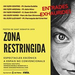Cartell de l'espectacle 'Zona Restringida'