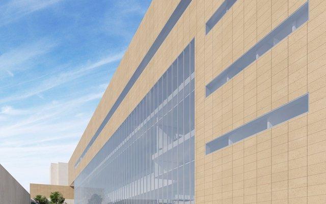 El nuevo edificio de Consultas Externas de Torrecárdenas sale a licitación por 8,6 millones de euros