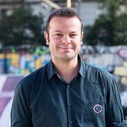 Raúl Camargo, uno de los portavoces de Anticapitalistas de Madrid