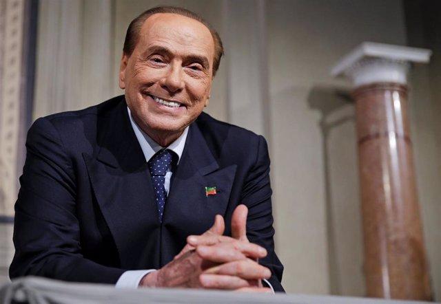 Berlusconi en una imagen de archivo en el Palacio del Quirinale