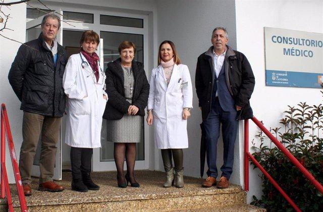 Sanidad Visita Consultorio Médico De Cudón17 Ene 19