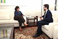 El Govern central i la Generalitat estudiaran crear un nou canal de comunicació entre partits (POOLMONCLOA/JM CUADRADO - Archivo)