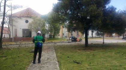 Al menos cuatro muertos por la explosión de un coche bomba en una escuela de Policía de Bogotá