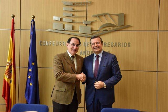 Javier González de Lara y Juan Carlos Hernández Buades.
