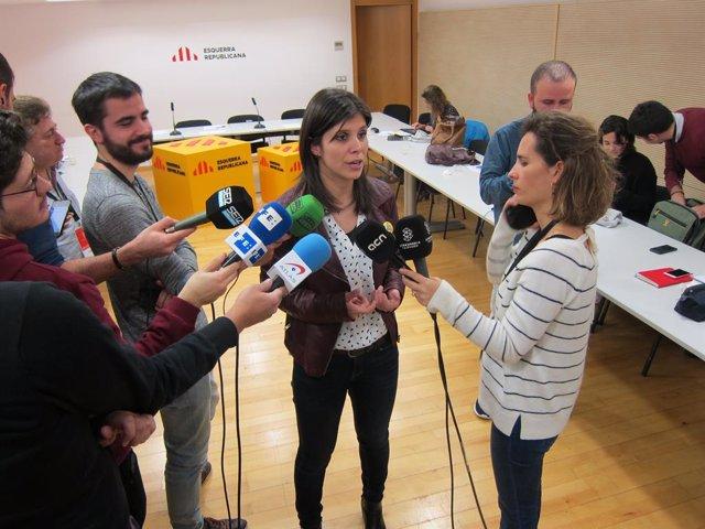 La Portaveu d'ERC Marta Vilalta