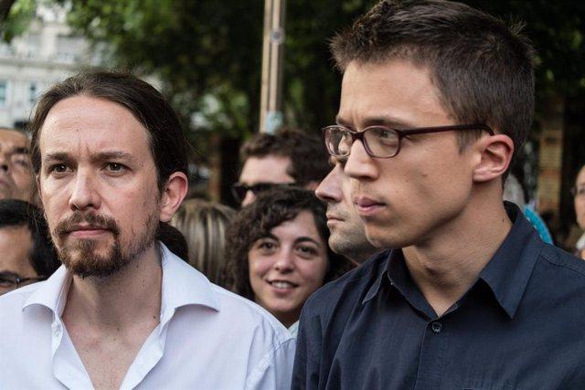 Pablo Iglesias i Íñigo Errejón