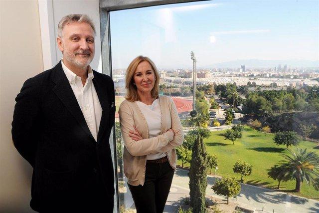 Ortiz García y Ángel Olaz Capitán, investigadores de la Universidad de Murcia