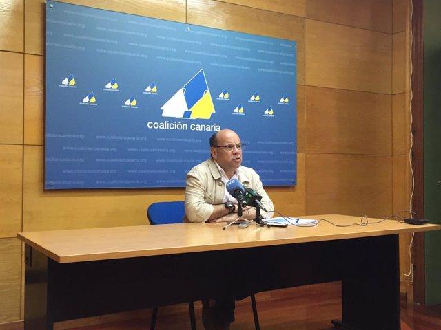 El secretari general de CC, José Miguel Barragán