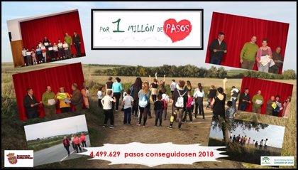 Se inicia la nueva edición del proyecto 'Por un millón de pasos' en Castilleja del Campo (Sevilla)
