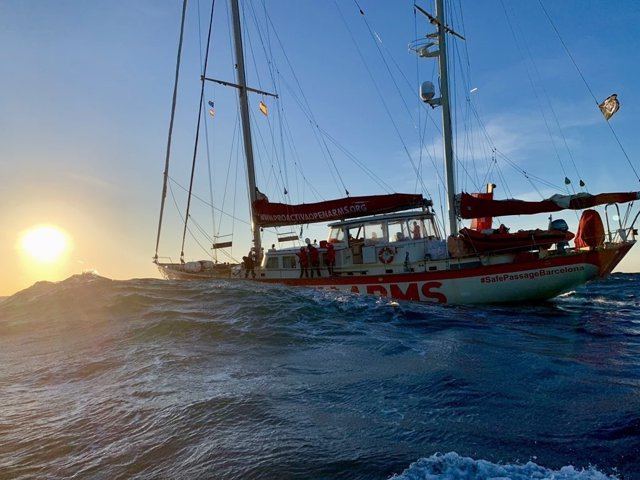 Vaixell 'Astral' de l'ONG Proactiva Open Arms