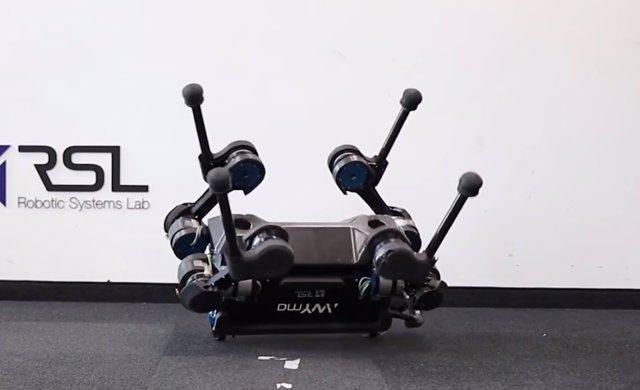 Perro robótico de Robotic Systems Lab