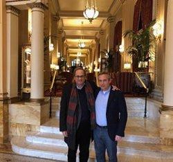 Torra expressa el seu suport a Josep Lluís Alay per la investigació de l'Audiència Nacional (@QUIMTORRAIPLA)