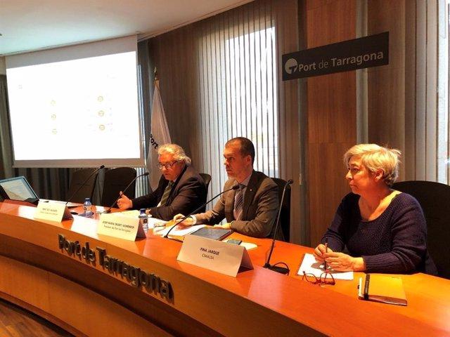 Enric Ticó, Josep Maria Cruset y Fina Jarque