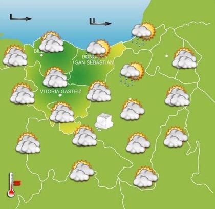 Previsiones meteorológicas del País Vasco para mañana, día 18