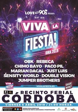 Cartel de 'Viva la fiesta'