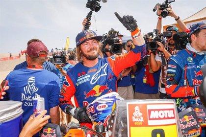 """Toby Price: """"Es de locos ganar el Dakar sin ninguna victoria de etapa"""""""