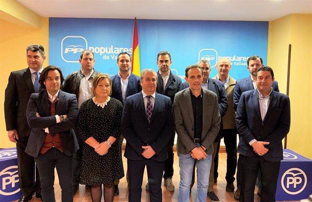 Valladolid.- Presentación de 11 candidatos a Alcaldías del PP 17-1-19