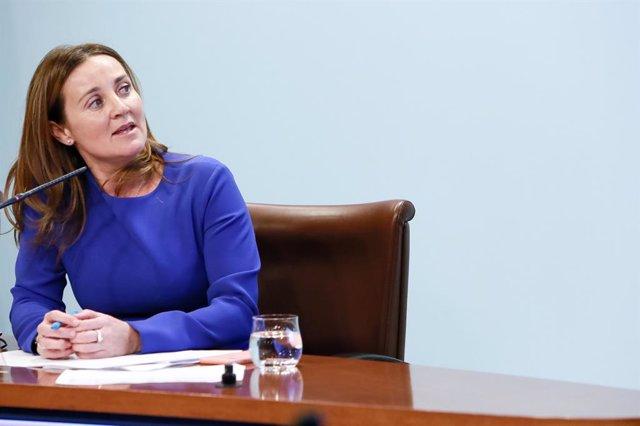 La ministra de Cultura, Joventut i Esports d'Andorra, Olga Gelabert
