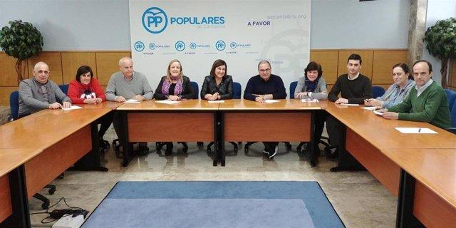 Comité Electoral del PP cántabro