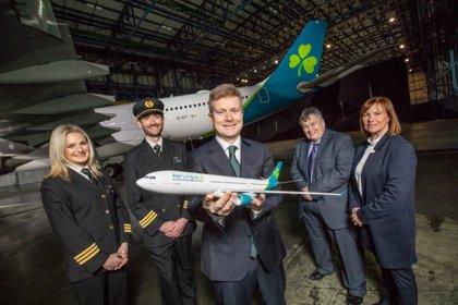 Aer Lingus rediseña el trébol de sus aviones, primera renovación de su marca en 20 años
