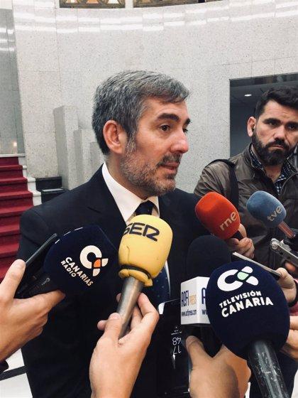 """Clavijo ve """"voluntad de corregir"""" los PGE y pacta una 'cumbre' con Batet y Montero"""