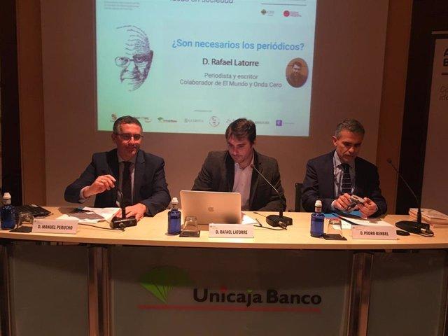 Valladolid.- Manuel Perucho (i), Rafa Latorre y Pedro Berbel