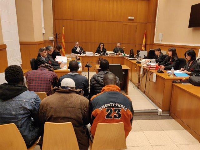 Judici al portaveu del Sindicat de Manters de Barcelona L.Sarr