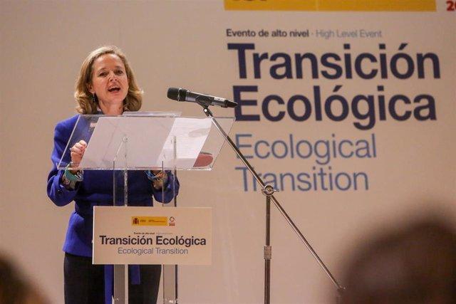 Evento de alto nivel sobre Transición Ecológica 'Horizonte 2030: Los Objetivos d