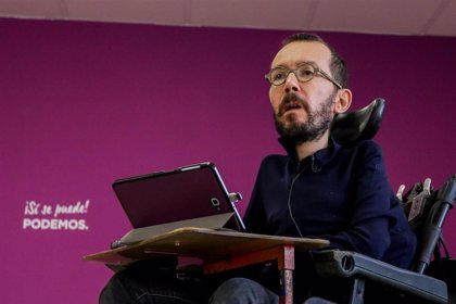 """Echenique asegura que es """"un día duro tras la decisión de Errejón de abandonar Podemos"""""""