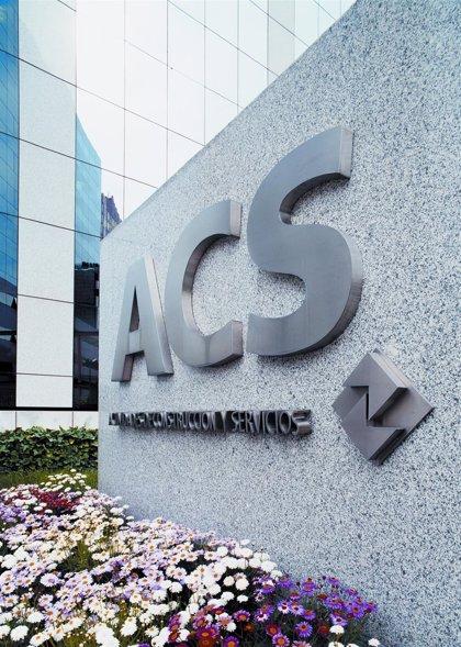 ACS repartirá en febrero un dividendo de 0,450 euros o una acción por cada 76