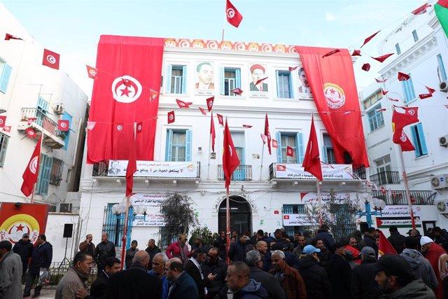 General strike in Tunisia