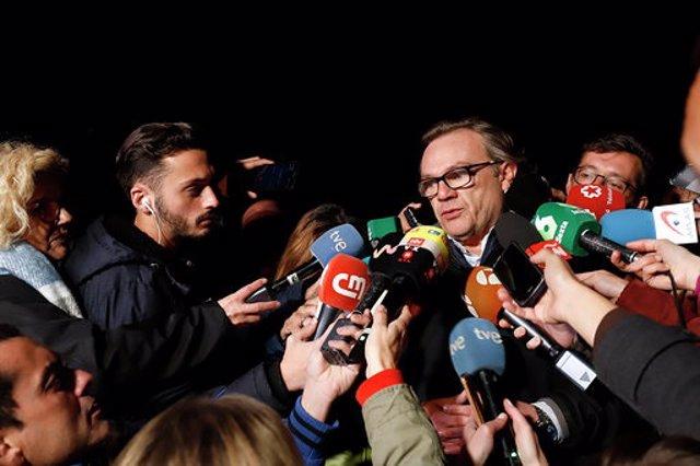 El ingeniero Ángel García Vidal atiende a los medios por el rescate de Julen