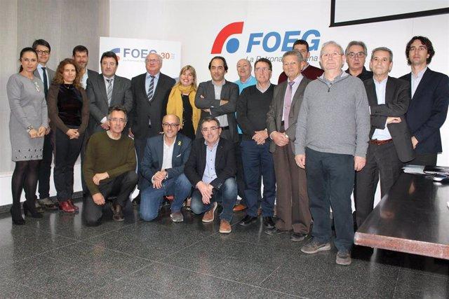 Nueva junta de la Federación de Organizaciones Empresariales de Girona