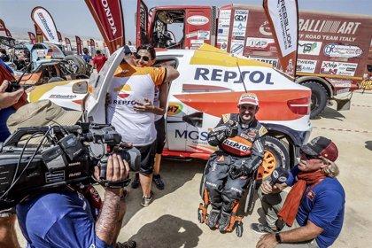 """Isidre Esteve culmina su Dakar más exigente: """"Es el tercer año seguido que acabamos"""""""