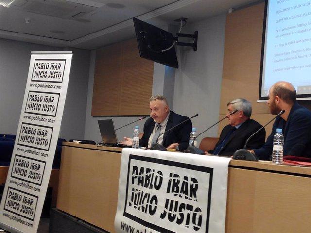 Andrés Krakenberger, Cándido Ibar y Carlos Escaño