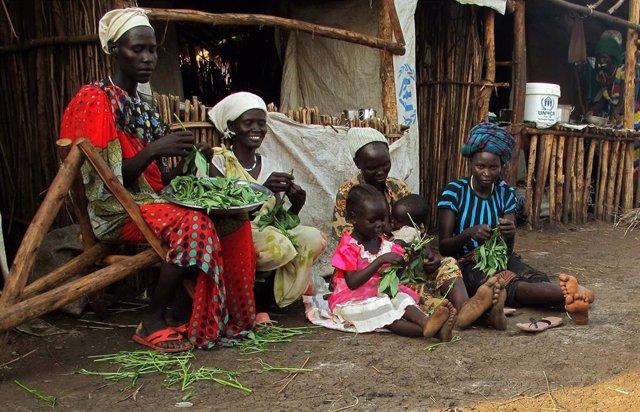Refugiados sursudaneses en Etiopía