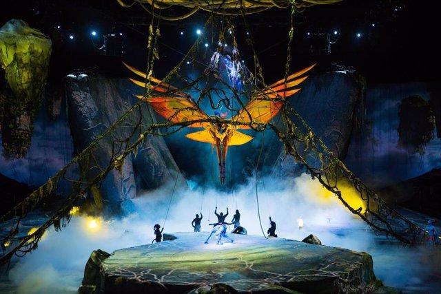 Cirque du Soleil suma una función de 'Toruk' en el Palau Sant Jordi de Barcelona