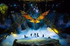 El Cirque du Soleil arriba al Palau Sant Jordi de Barcelona amb un muntatge inspirat en 'Avatar' (CIRQUE DU SOLEIL)