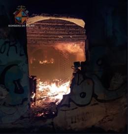 Incendio Ca Pastilla