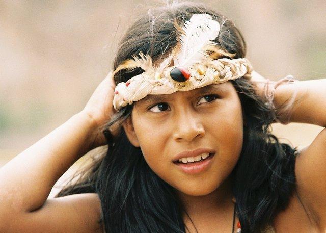 Indígena, niña indígena