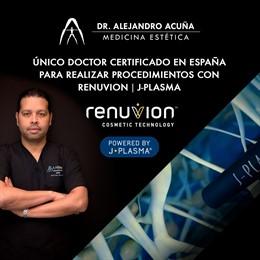 Clínica de medicina estética AA Clinic con el Dr. Alejandro Acuña a la cabeza